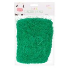 Easter Grass Decoration Bonnet Basket Hats Kids Arts Crafts Fake Grass Straw 32g