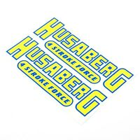 Husaberg Stickers Decal Motorcycle Vinyl 100mm x2 Motorbike Motorcross