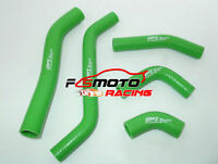 For KAWASAKI KXF450 KX450F 2006 2007 2008 07 08 Silicone Radiator Hose Kit green