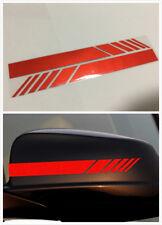High temperature Red Side mirror sticker For Benz CLA GLA GLE C E A B AMG class
