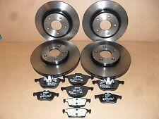 Original Bremsscheiben + Beläge vorne (278mm) + hinten (265mm) Ford Focus /C-MAX