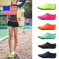 Unisex Women Men Skin Water Shoes Beach Socks Swimming Yoga Activewear Socks