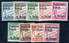 OCEANIE PORTO 1926 Yvert TT 1-9 * SATZ (F3868