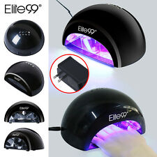 Elite99 LED 12W Nail Lamp UV Gel Polish Curing Dryer Light Manicure with Timer