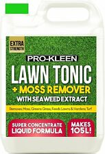 IRON SULPHATE LIQUID FERROUS KILLER MIRACLE GRASS MOSS TURF GREENER LAWN FEED 5L