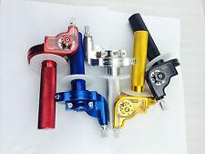 SPEEDWAY GRASSTRACK MOTOCROSS PIT DIRT BIKE cnc quick action throttle twist grip