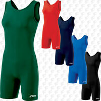 NEW Asics Women's Girls Adult Solid Modified Wrestling Singlet, JT857, 5 colors