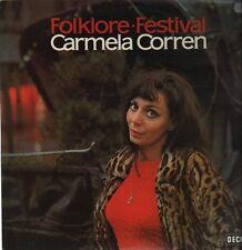 """12"""" Carmela Corren Folklore Festival (Alles Gold dieser Welt) 70`s DECCA"""