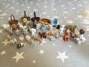 MEG PUPPY IN MY POCKET FLOCKED ANIMALS, ACCESSORIES AND OTHERS BUNDLE