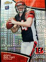 2011 ANDY DALTON 🔥ROOKIE🔥 ((#/399)) Topps Finest ((REFRACTOR)) #116 - Bengals