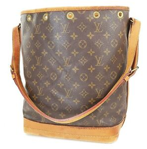 Authentic LOUIS VUITTON Noe Monogram Shoulder Tote Bag Purse #38018