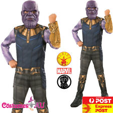 Child Thanos Infinity War Costume Superhero Avengers Marvel Kids Boys Book Week