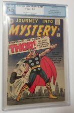 Journey Into Mystery #89 - Origin of Thor Retold - PGX Grade 5.5 - 1963 Not CGC