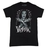 Kreepsville 666 Vampira Bats Flock Gothic Punk Horror Witch Occult T-shirt MTVBF