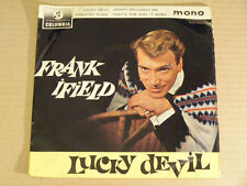 FRANK IFIELD Lucky Devil   Columbia VG+ UK 1961 P/S EP
