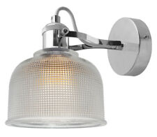 Modern Vintage Industrial Retro Loft Glass Wall Lamp Shade Pendant Light M0088F