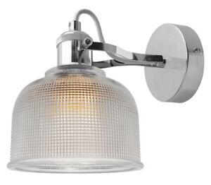Modern Vintage Industrial Retro Loft Glass Wall Lamp Shade Pendant Light M0088F