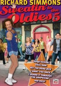RICHARD SIMMONS - SWEATIN TO THE OLDIES 5 NEW DVD