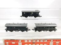 CD137-0,5# 3x Rokal Spur TT/DC Personenwagen 2./3. Klasse/Gepäckwagen, sehr gut