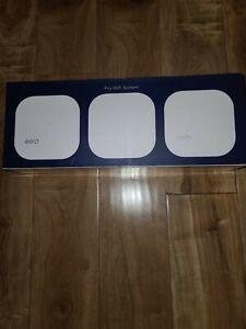 ✳️✳️ NEW! ✳️ eero PRO WiFi System (3 eeros) 2nd Generation White B010301