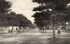 CASTLE STREET KILLOUGH CO. DOWN IRELAND IRISH POSTCARD by LAWRENCE