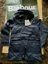 BNWT womens BARBOUR SEATON padded WAXED jacket coat size XS uk 8 RRP £300