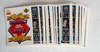 1993-94 MCDONALDS UPPER DECK HOCKEY McD COMPLETE 27 CARD SET+checklist