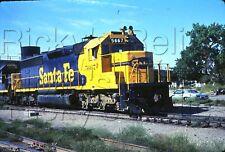 Original Slide Belen, NM ATSF 5667 EMD SD45-2 Santa Fe 8/28/1973 ACTION
