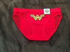 Wonder Woman Character Panty Brief Underwear NWT Sz L Free Shipping Red Seamless
