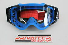 Dragon Alliance MXV Max MX Goggles Clear Lens Blue Red