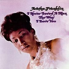 NEW CD Album Aretha Franklin - I never loved a man .. (Mini LP Style Card Case)
