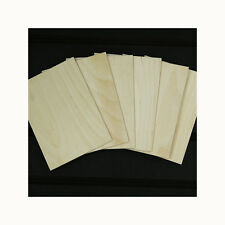 6 A5 BIRCH PLYWOOD PLAQUES 7 3/4 x 5 3/4 INCHES APROX  PYROGRAPHY CRAFT BLANKS