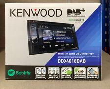 """Kenwood DDX4018DAB Double Din 6.2"""" Bluetooth DAB Car Radio DVD CD MP3 EX-DEMO"""