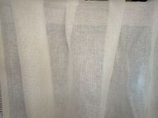 Beautiful Rogers & Goffigon Fabric - Maille - Dove - Linen Scrim - 11 Yards