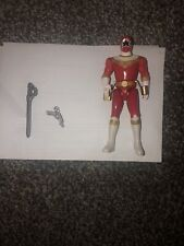 Vintage Mighty Morphin Power Rangers Red Zeo Ranger Action Figure - 1996 Bandai