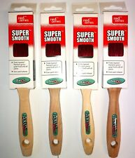"""Axus Red Series Super smooth Set 4 x 1.5"""" Professional decorator FREE POSTAGE"""