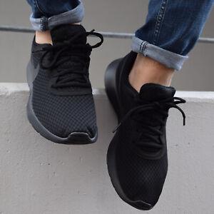 Nike Tanjun Schuhe Sneaker Herren 812654 001 Schwarz