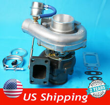 T04E T3/ T4 Turbo Turbocharger Compressor Internal Wastegate V-band New