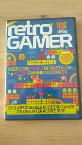 RETRO GAMER MAG 2011 LOAD 03 3 EMAG DVD FOR PC & MAC 25 ISSUES ON DISC 56 TO 80