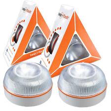2x Luz de emergencia HELP FLASH - Señal V16 señalización de peligro homologa