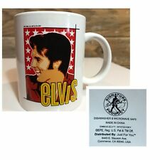 "Elvis Presley ""Elvis"" Signature Product Ceramic Coffee mug cup"