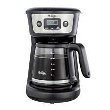 Mr. Coffee 12-Cup Programmable Coffeemaker,Strong Brew Selector, Stainless Steel