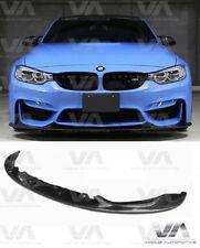 BMW M3 M4 F80 F82 F83 3D Style Fibre de Carbone Front Lip Spoiler Splitter