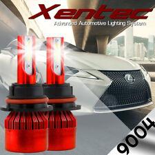 XENTEC LED HID Headlight Conversion kit 9004 HB1 6000K 1990-1994 Mazda Protege