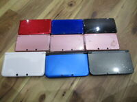 Nintendo 3DS x6 LL x2 NEW3Ds LL x1 Lot of 9 Console Japan ver for parts Junk T11