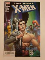 Uncanny X-Men #3 VF/NM 1st Print Marvel Vol 5 2018