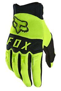 FOX RACING BRAND DIRTPAW GLOVES ADULT SIZE MX MOTOCROSS MOTORCYCLE ATV NEW
