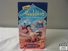 Aladdin's Arabian Adventures - Creatures of Invention VHS Walt Disney Home Video