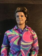 Vintage Barbie 90s - TOTALLY HAIR KEN - Rooted Hair - Fab Original Outfit - 1991