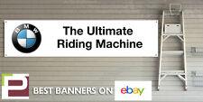 MOTO BMW Ultimate MACCHINA Equitazione Workshop Garage Banner, f800r, s1000r ecc